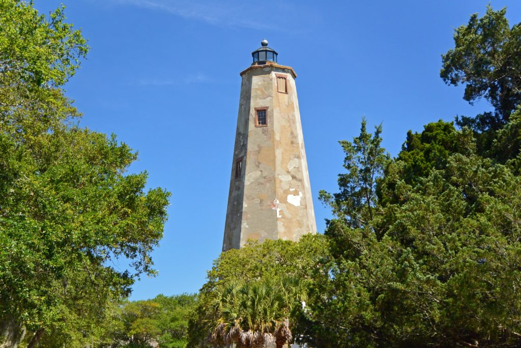 Old Baldy Lighthouse, Bald Head Island, North Carolina