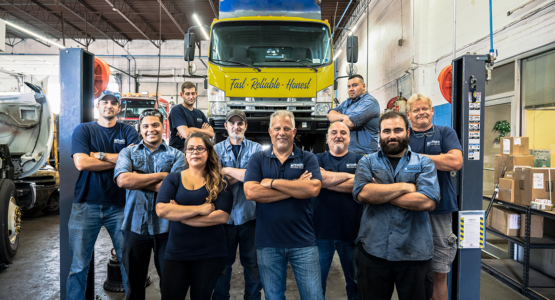 Pine Aire Truck Employees